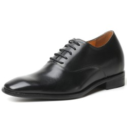 Classic black elevator shoes