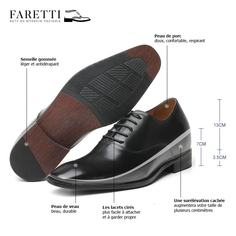 Jak są zbudowane buty męskie podwyższane